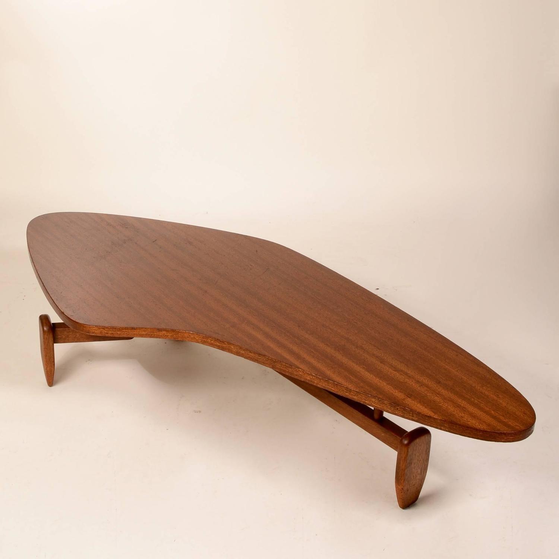 John Keal Boomerang Coffee Table For Sale At 1stdibs