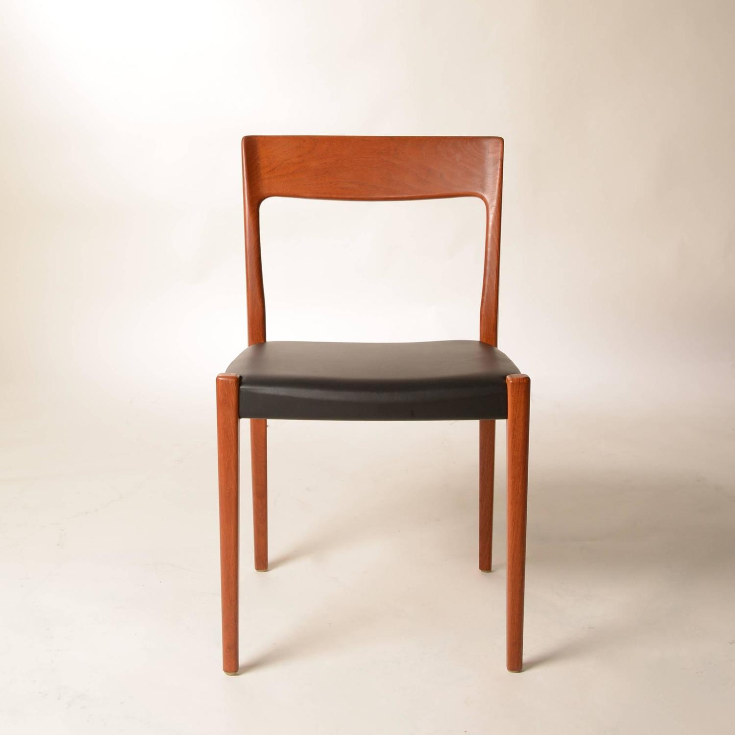 set of four svegards markaryd made dining chairs at 1stdibs