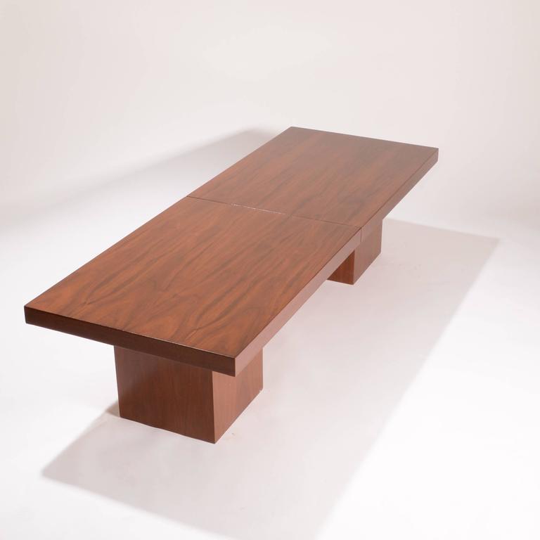 American Modern John Keal Expanding Coffee Table By Brown Saltman For
