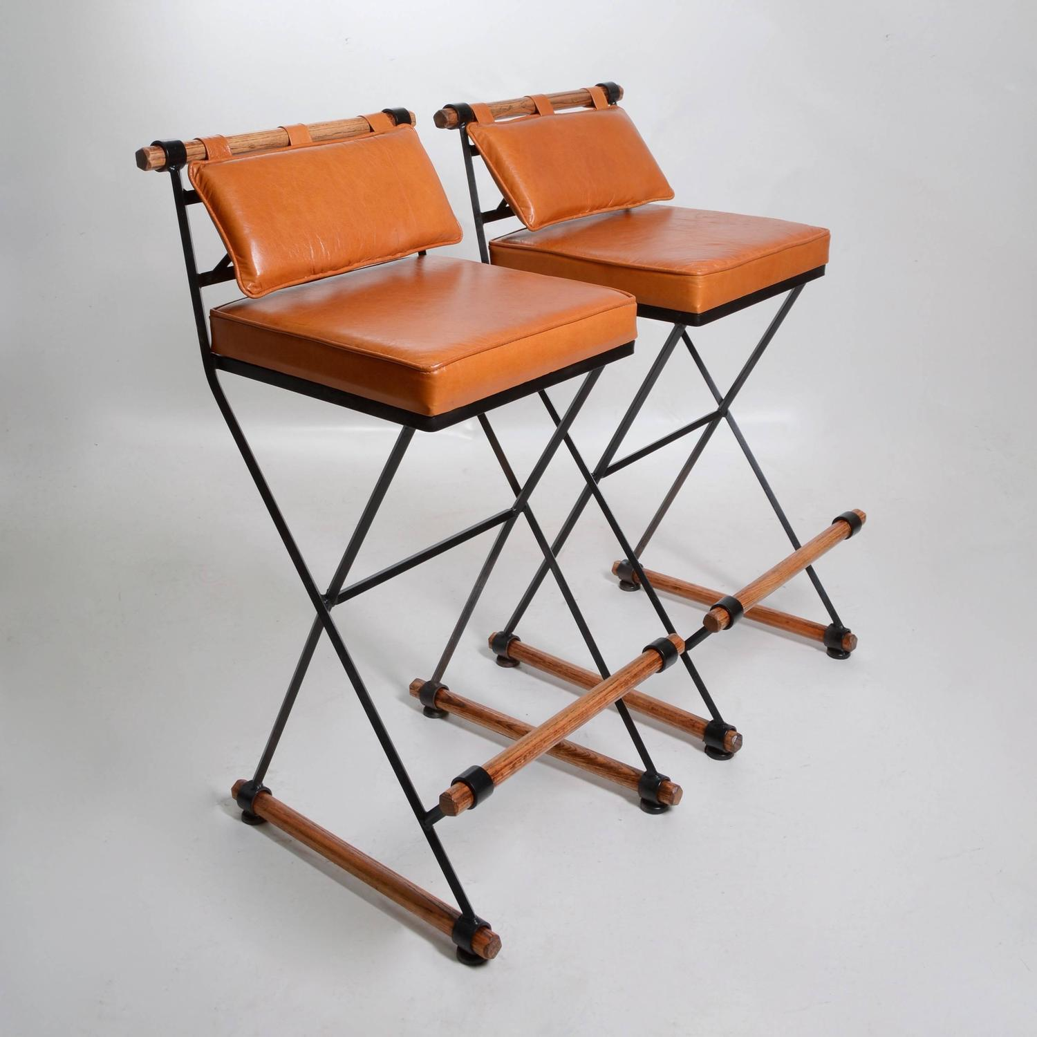 Pair Of Cleo Baldon Bar Stools For Sale At 1stdibs