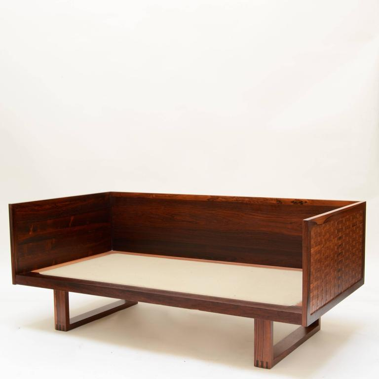 Poul Cadovius Two Seat Sofa In Rosewood For France And S 248 N