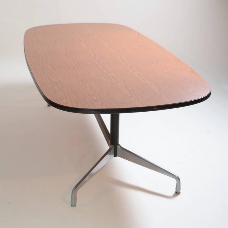 Herman miller eames racetrack dining table for sale at 1stdibs - Eames table herman miller ...