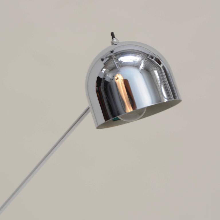 American Single Arm Floor Lamp by Robert Sonneman