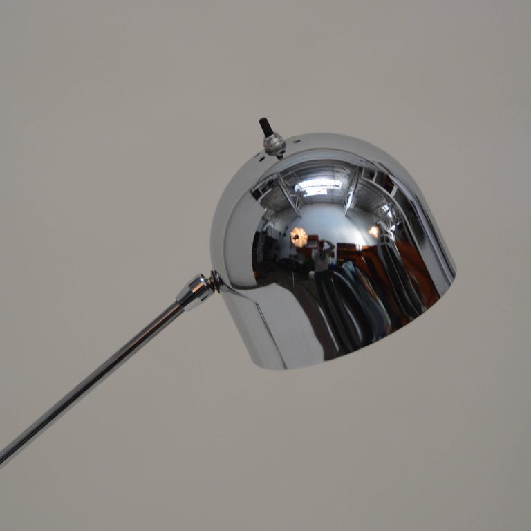 Single Arm Floor Lamp by Robert Sonneman In Excellent Condition In Los Angeles, CA