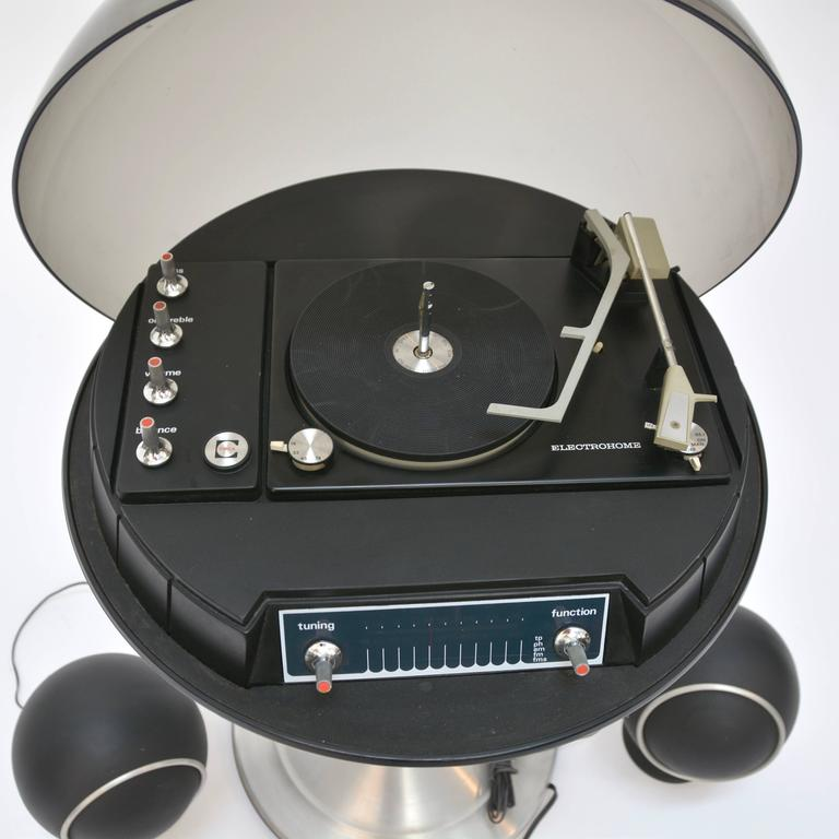 """1970 Electrohome 711 """"Saturn"""" Record Player and Stereo at ..."""