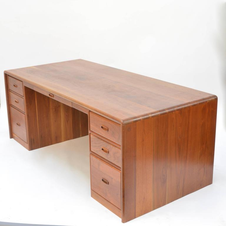 Ed Rizzardi Solid Walnut Executive Desk 2
