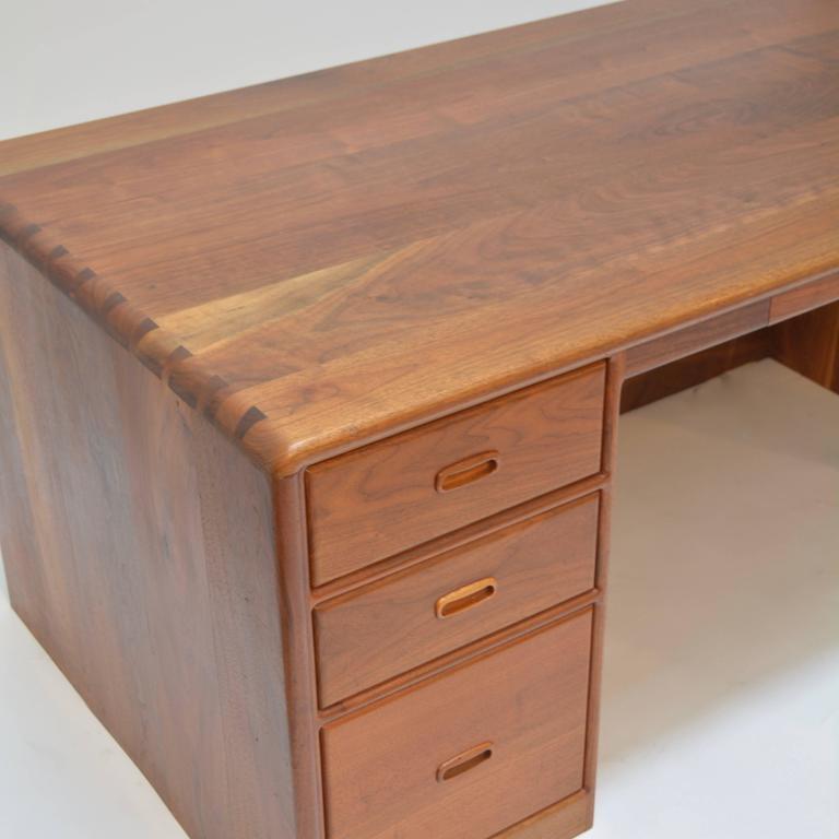 Ed Rizzardi Solid Walnut Executive Desk 3