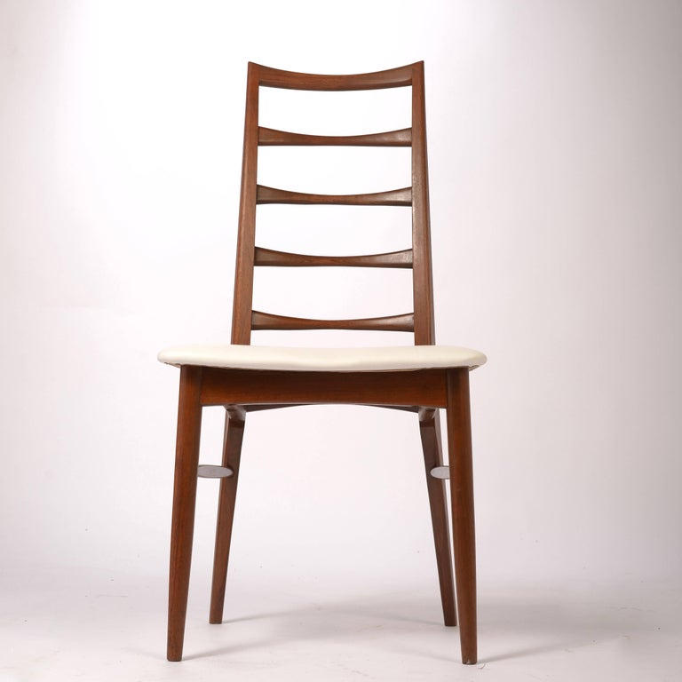 Four Lis Niels Koefoed for Koefoed Hornslet Danish Dining Chairs