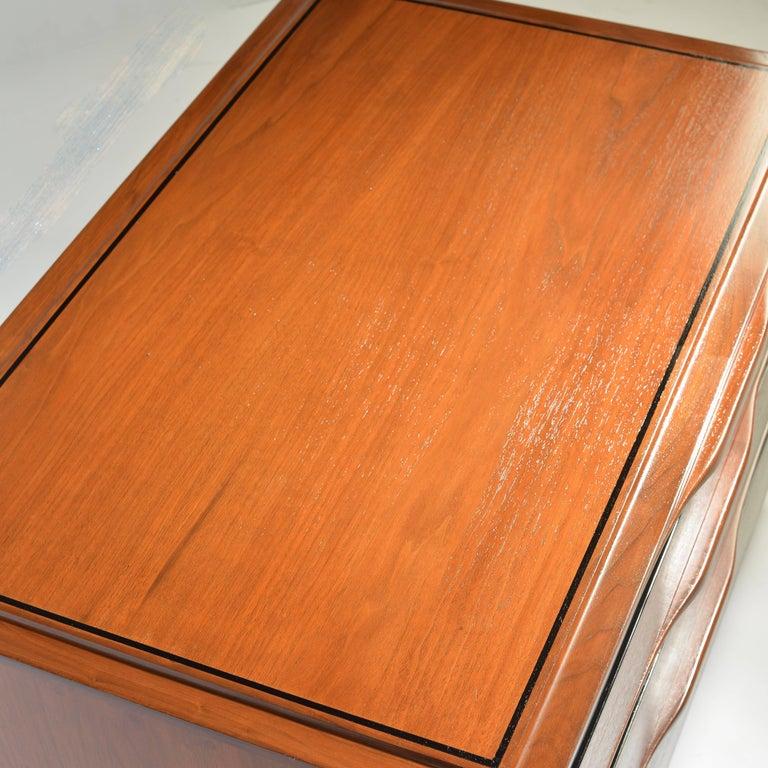 American Walnut Three-Drawer Dresser by John Kapel for Glenn of California For Sale
