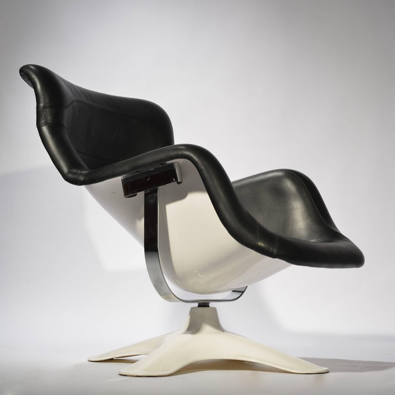Scandinavian Modern Karuselli Lounge Chair by Yrjö Kukkapuro For Sale