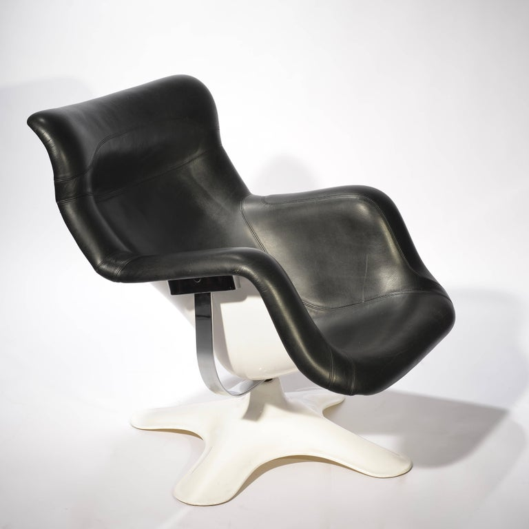 Karuselli lounge chair designed in 1965 by Yrjo¨ Kukkapuro.