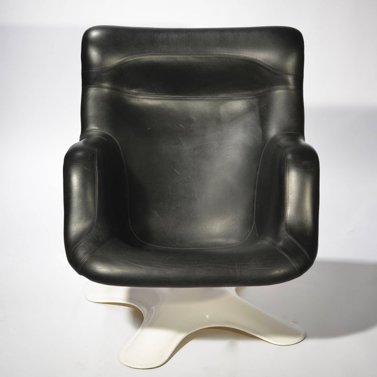 Mid-20th Century Karuselli Lounge Chair by Yrjö Kukkapuro For Sale