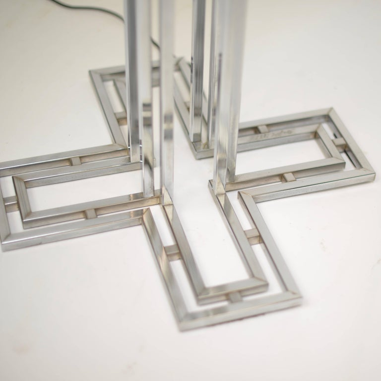 C. Jere Chrome Floor Lamp For Sale 4