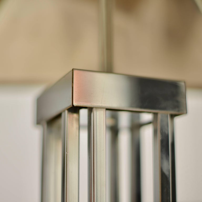 C. Jere Chrome Floor Lamp For Sale 2