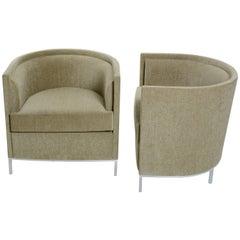 Pair of California Modern Club Chairs by Martin Brattrud