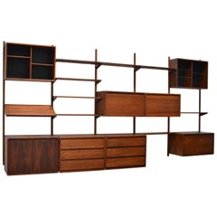 Barzilay Walnut Wall Unit