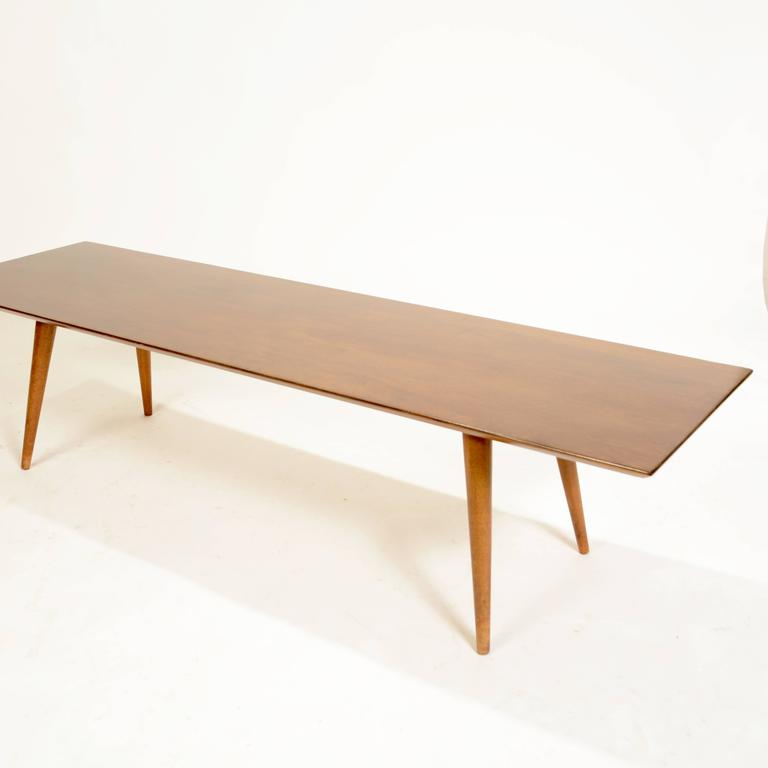 Refinished Planner Group Table by Paul McCobb For Sale at