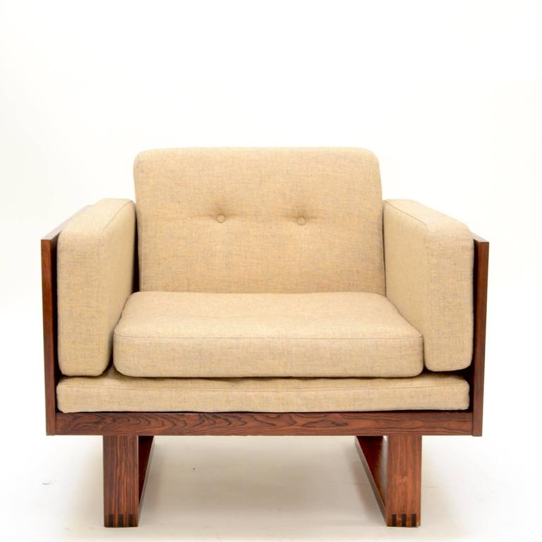 This is an amazing lounge chair by Poul Cadovius for France & Son, Denmark, 1960s. We also have the matching two-seat sofa pictured last. See additional listing for more information.   This set is located at our Downtown Los Angeles location.