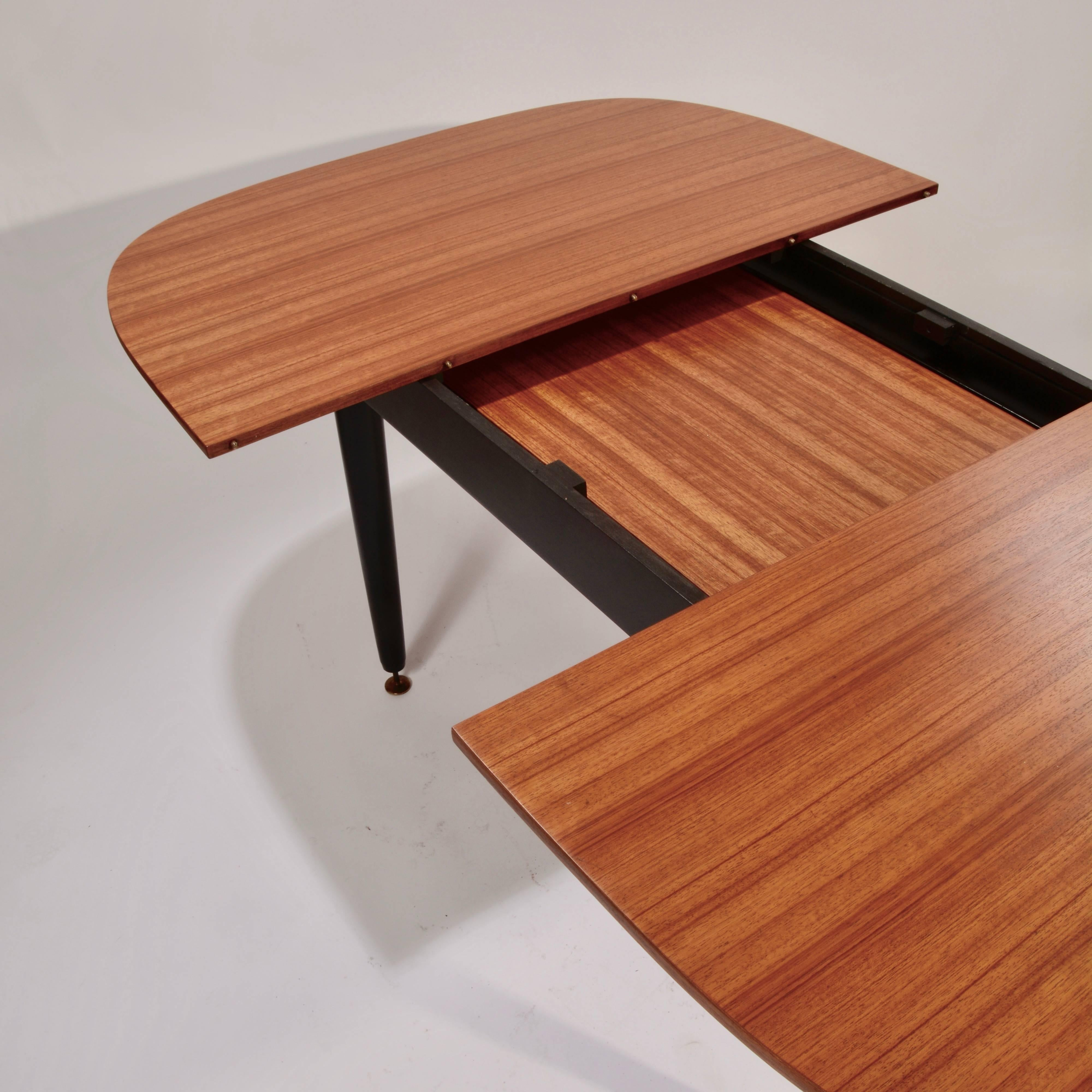 Early G Plan Dining Table By E Gomme In Gany And Black For At 1stdibs