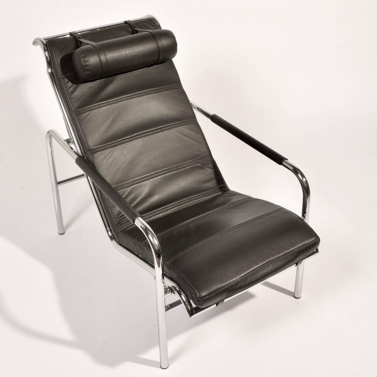Italian Genni Lounge Chair and Ottoman by Gabriele Mucchi for Zanotta For Sale
