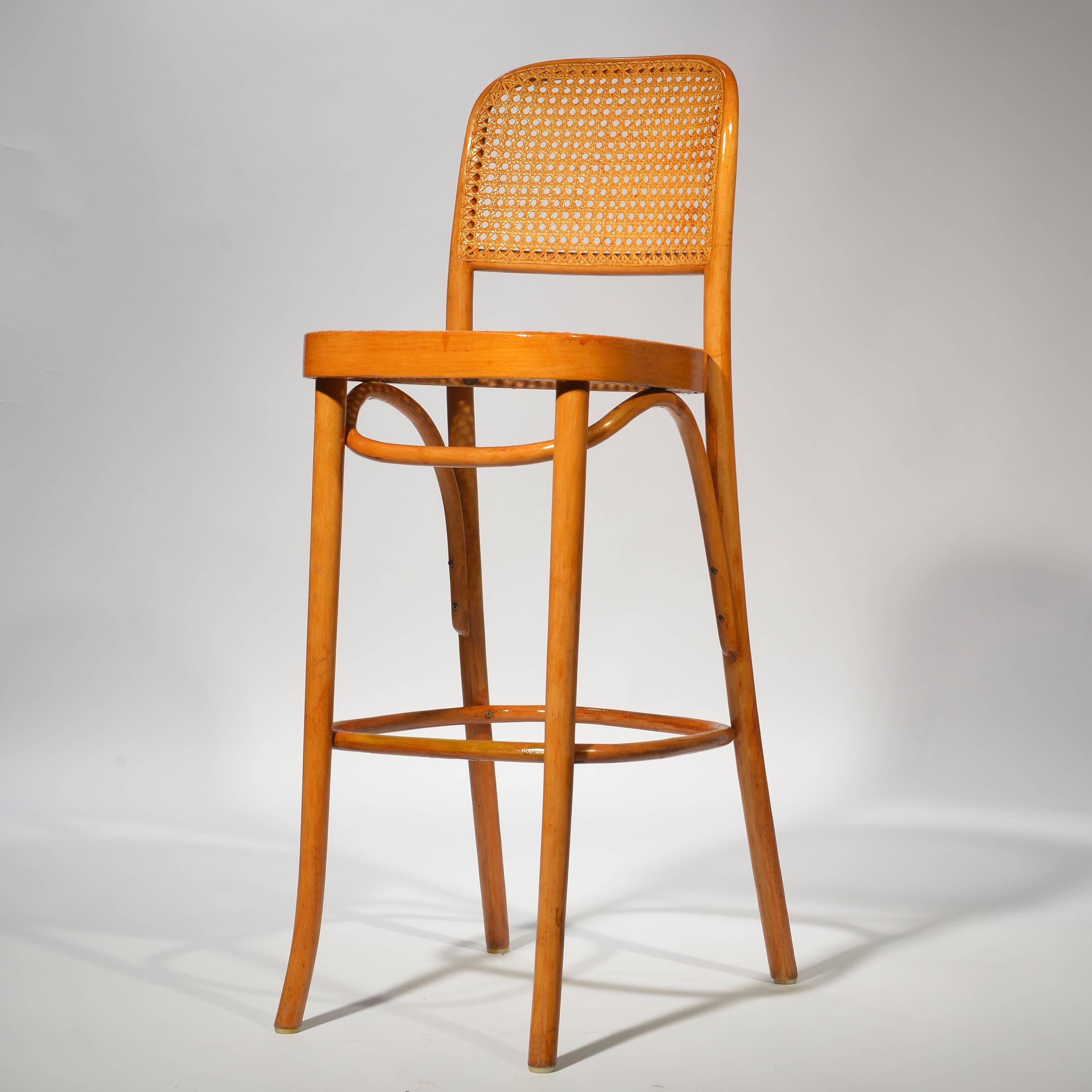 Bar Stool Designed By Josef Frank And Hoffmann They Feature Minimal  Bentwood Sturdy Frames Thonet Bar1