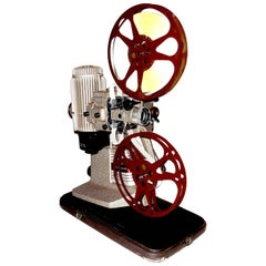 16mm Movie Projector, circa 1940, Iconic, Vintage Sculpture for the Media Room