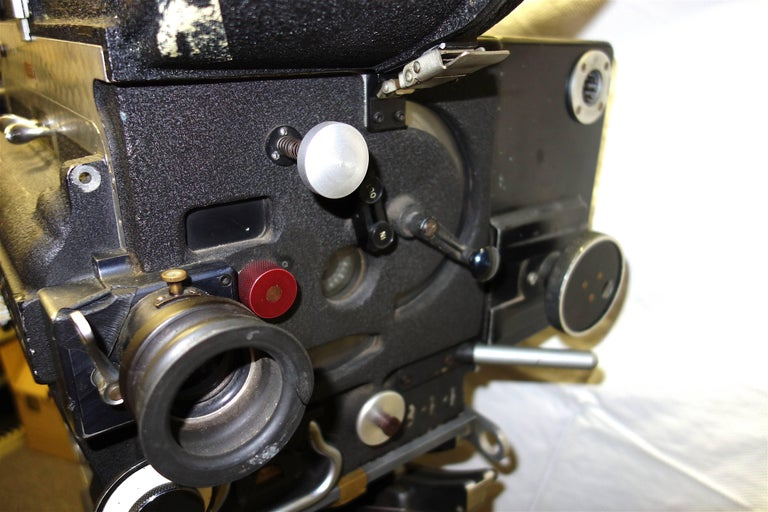 20th Century Rare Mitchell 35mm Antique Hollywood Feature Cinema Camera Package as Sculpture For Sale