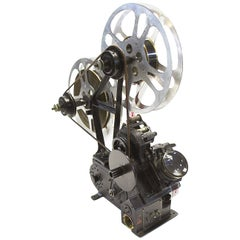 Moviola Bullseye Film Editing Viewer Designed 1919 Built in 1932, Sculpture