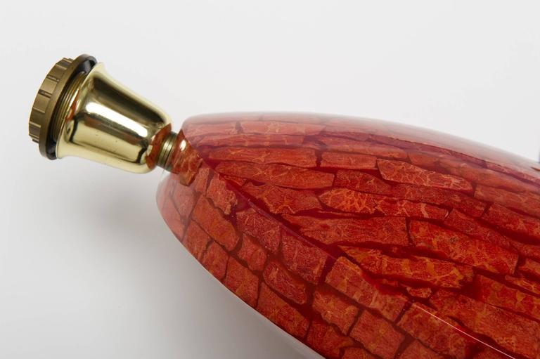 Coral Madrepora Italian Table  Lamp Design Giovanni Patrini In Excellent Condition For Sale In Alessandria, Piemonte