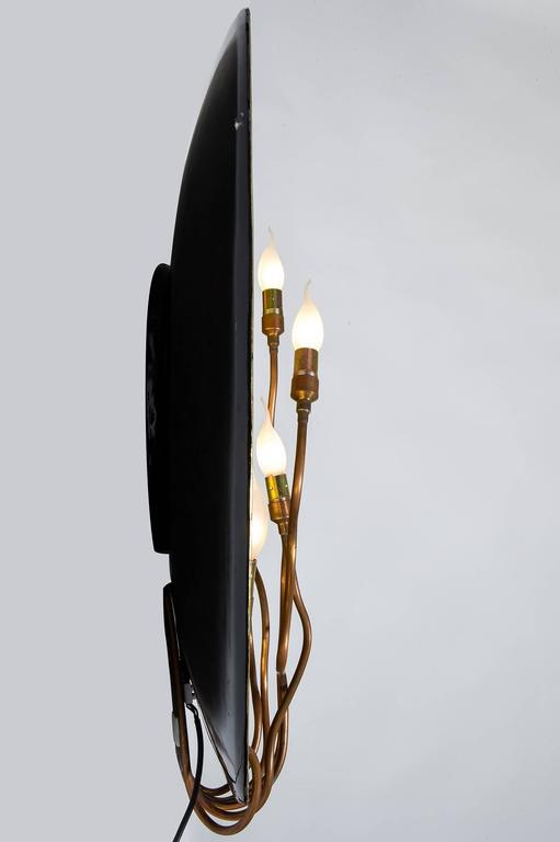 Golden Wall Lamps : Modern golden Wall Lamp For Sale at 1stdibs