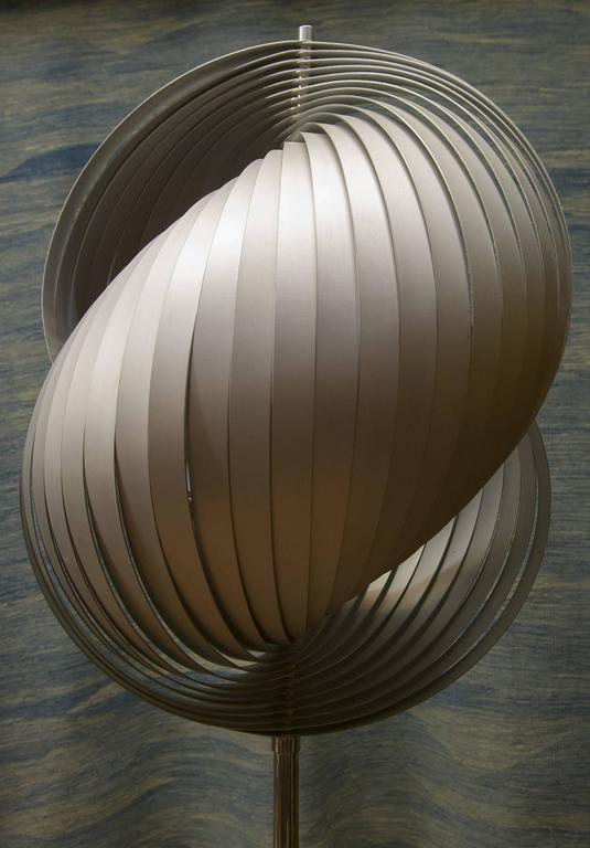 Anodized Modern Signed Floor Lamp- FINAL CLEARANCE SALE For Sale