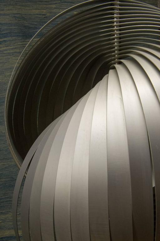 Aluminum Modern Signed Floor Lamp- FINAL CLEARANCE SALE For Sale