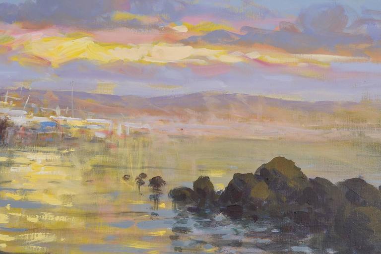 20th Century Italian  Sea  Painting