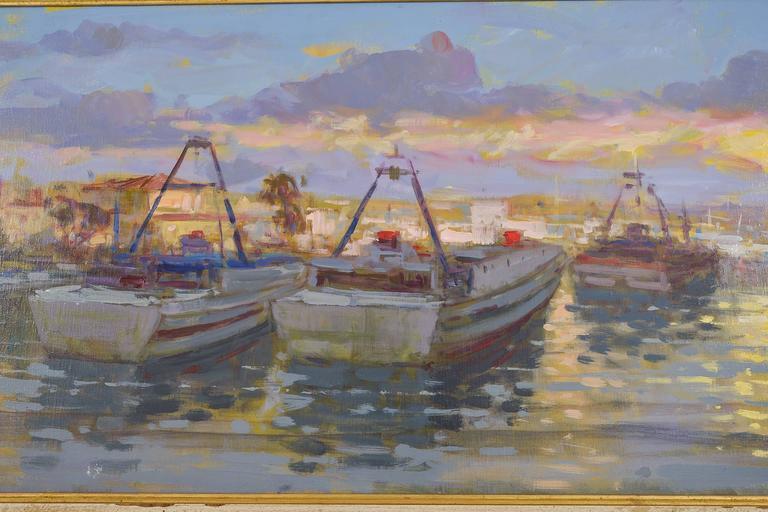 Canvas Italian  Sea  Painting