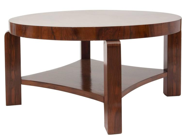 Art Deco  Art Déco French Coffee or Sofa Table For Sale