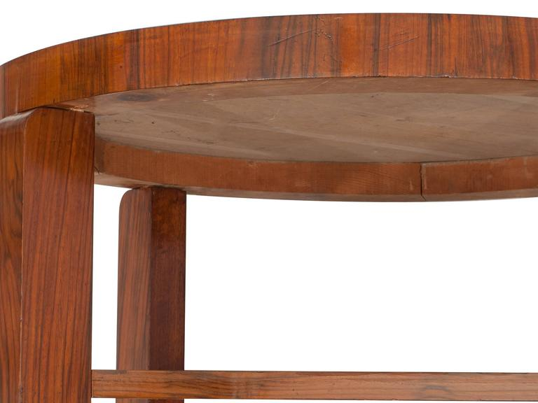 Austrian  Art Déco French Coffee or Sofa Table For Sale