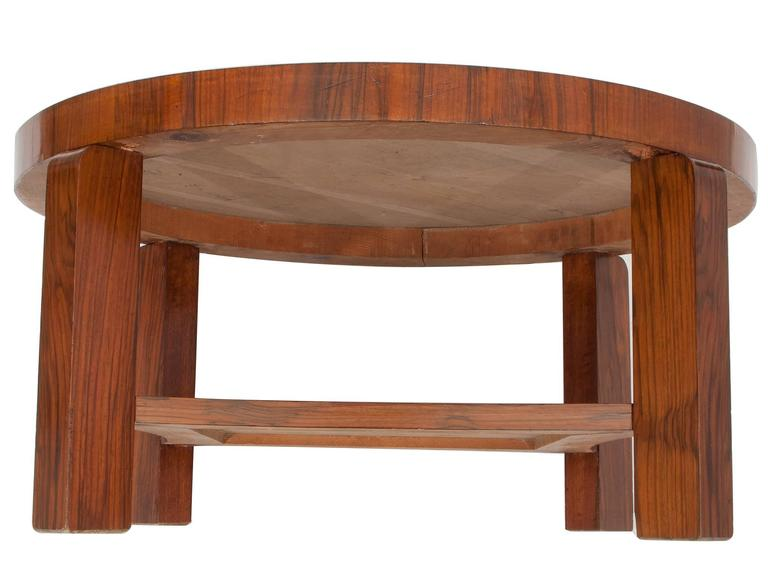Veneer  Art Déco French Coffee or Sofa Table For Sale