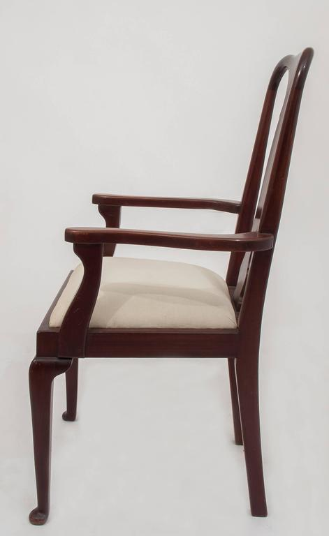 20th Century  Old English Dining High Chairs. Complete With Other Six Chairs For Sale