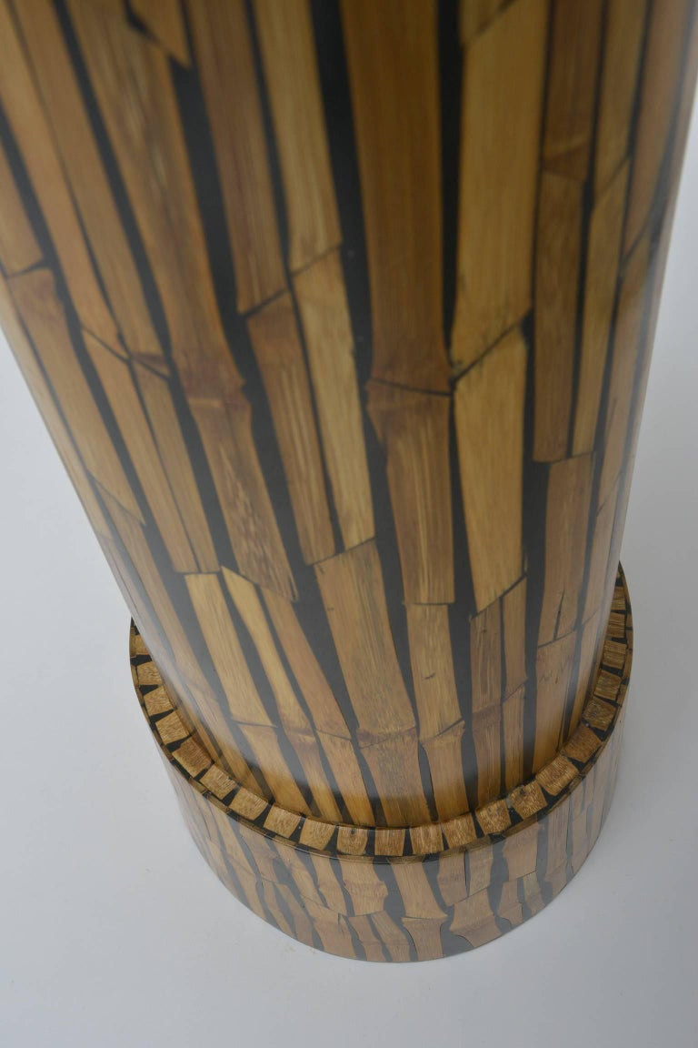 Set bamboo vase and bowl r y augusti for sale at stdibs