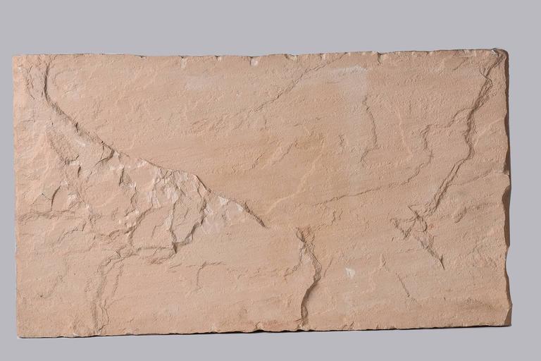 Sandstone Antique Cast  Architectural  Mogul Stone Panel -  For Sale