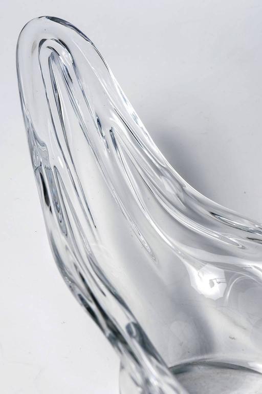 Mid-Century Modern  Murano Unusual Gondole Design Glass Table Lamp For Sale