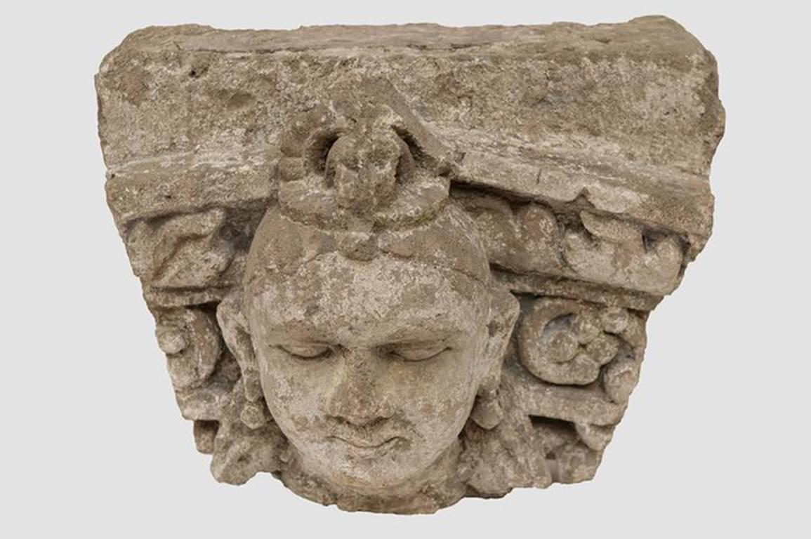 Museal stone high relief gandhara for sale at stdibs