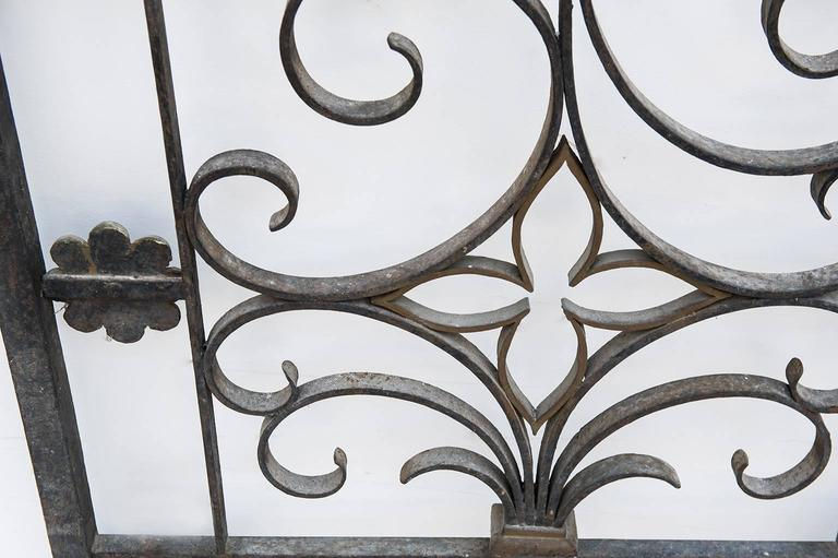 Antique Fine Little Interior Gate or Bed Headboard For Sale 1