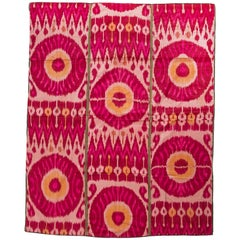 Old Bokara Ikat Wall Hanging