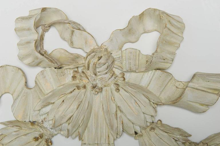 French  Wooden Antique Garland : Above Door or Bed or Mirror