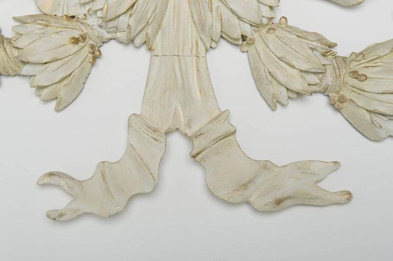 Embossed  Wooden Antique Garland : Above Door or Bed or Mirror