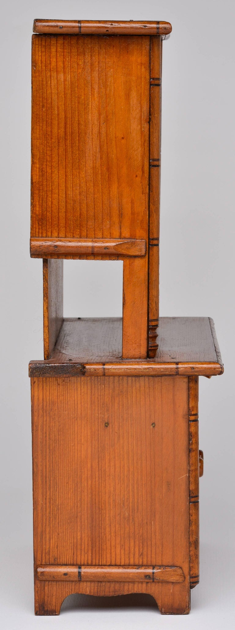 Antique Miniature Model of a French Cupboard For Sale 3