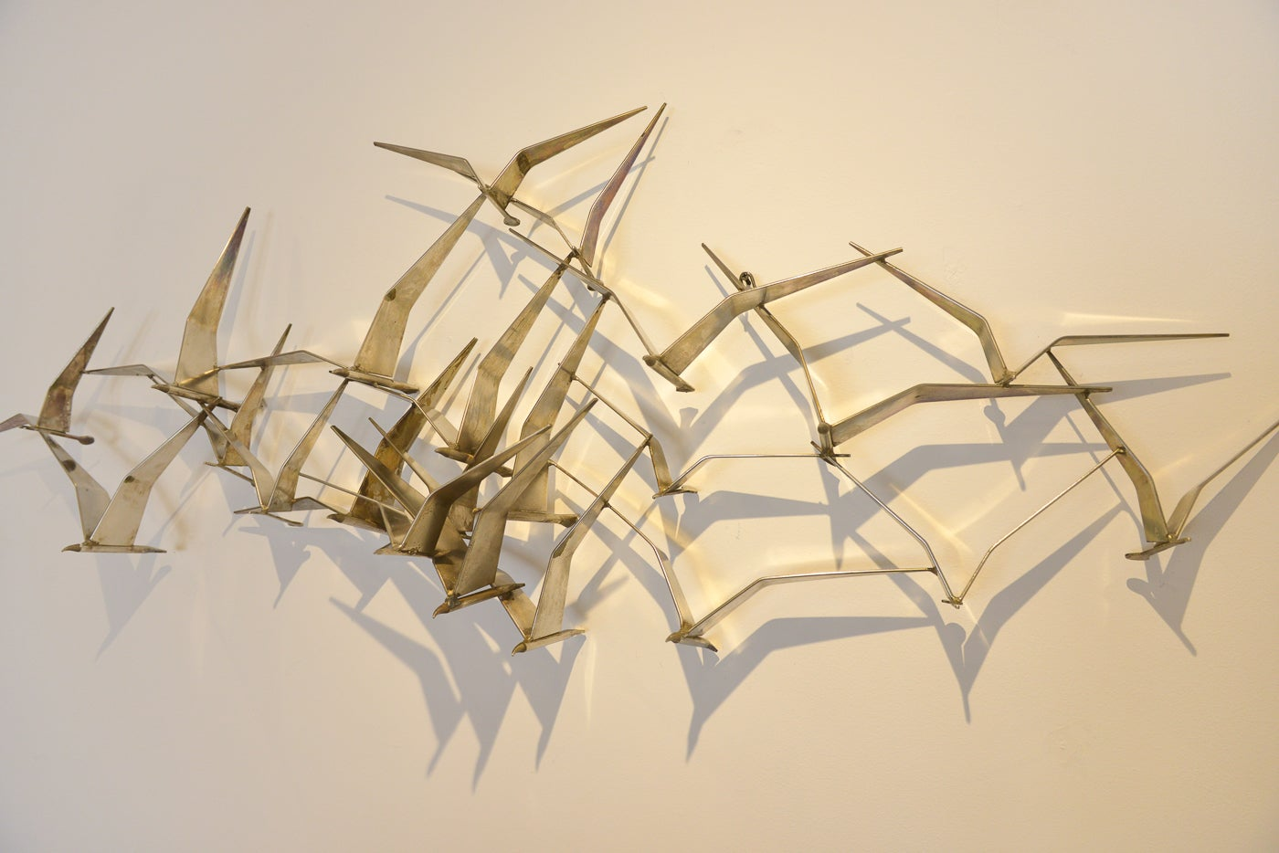 Beautiful Metal Birds Wall Art Frieze - All About Wallart ...