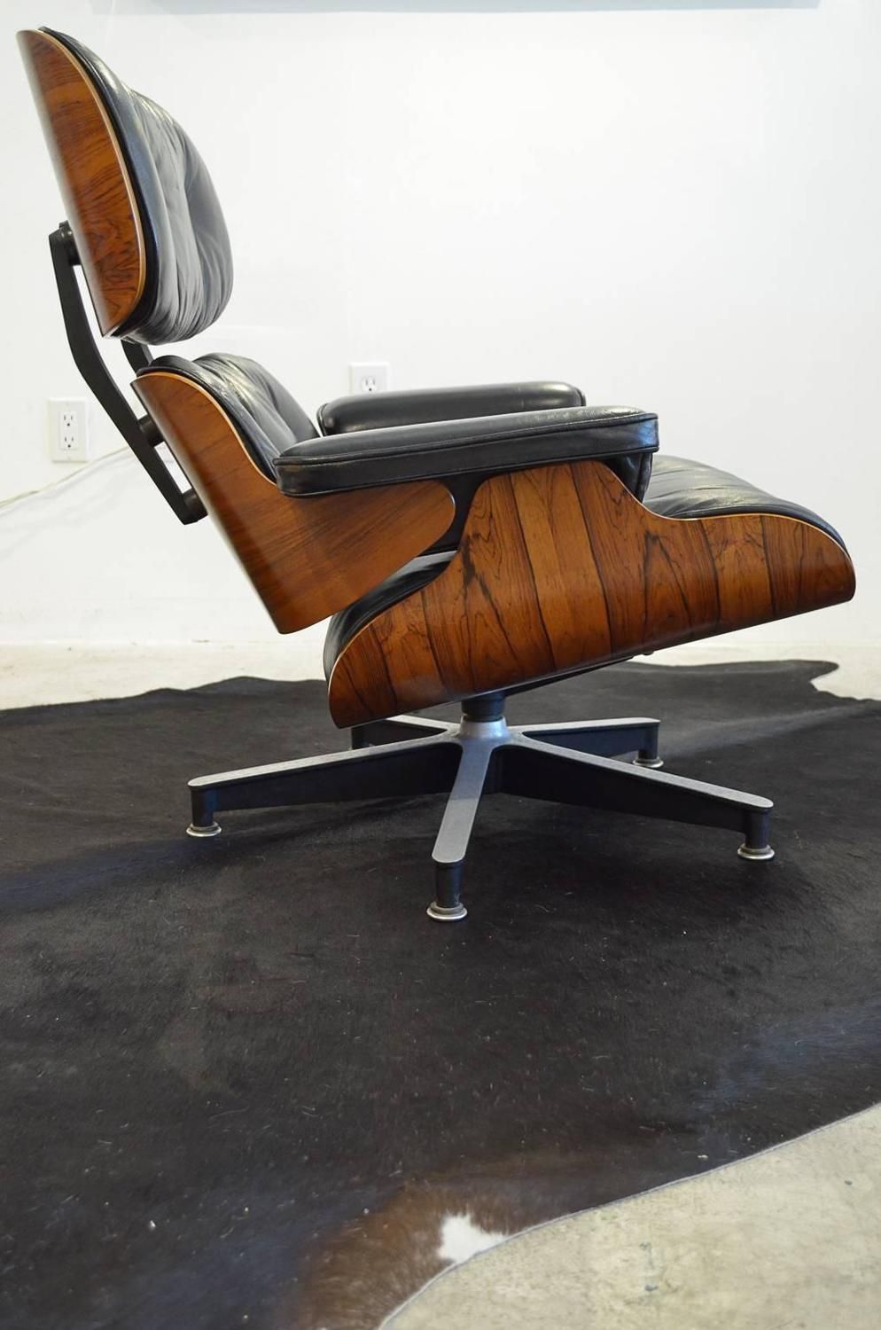 vintage 1970s rosewood eames 670 lounge chair for sale at 1stdibs