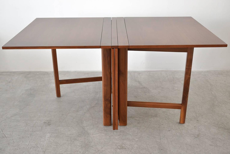 Bruno mathsson 39 maria 39 gateleg expandable dining table for for Gateleg dining table
